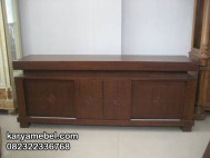 Lemari Buffet Jati KM-040